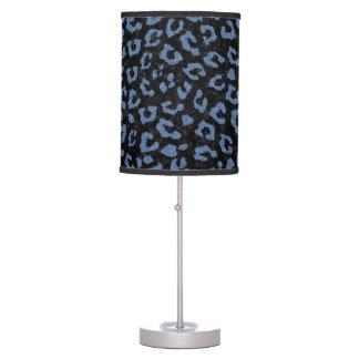 SKIN5 BLACK MARBLE & BLUE DENIM (R) TABLE LAMP