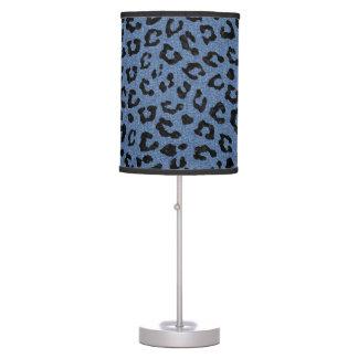 SKIN5 BLACK MARBLE & BLUE DENIM TABLE LAMP