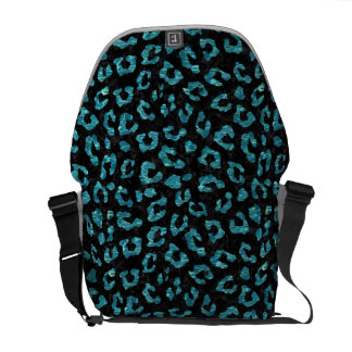 SKIN5 BLACK MARBLE & BLUE-GREEN WATER (R) COURIER BAG