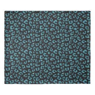 SKIN5 BLACK MARBLE & BLUE-GREEN WATER (R) DUVET COVER