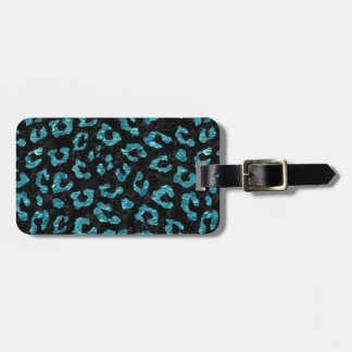 SKIN5 BLACK MARBLE & BLUE-GREEN WATER (R) LUGGAGE TAG