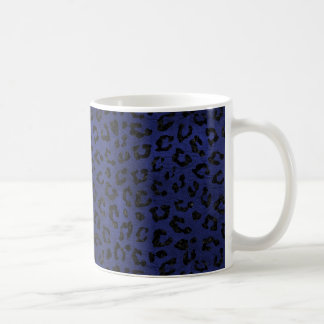 SKIN5 BLACK MARBLE & BLUE LEATHER COFFEE MUG