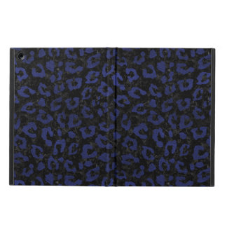 SKIN5 BLACK MARBLE & BLUE LEATHER (R) iPad AIR COVER