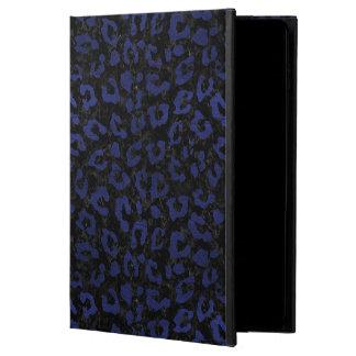 SKIN5 BLACK MARBLE & BLUE LEATHER (R) POWIS iPad AIR 2 CASE