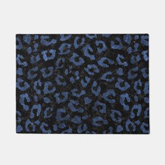 SKIN5 BLACK MARBLE & BLUE STONE (R) DOORMAT