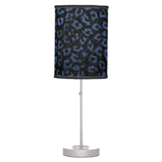 SKIN5 BLACK MARBLE & BLUE STONE (R) TABLE LAMP