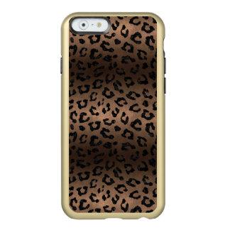 SKIN5 BLACK MARBLE & BRONZE METAL INCIPIO FEATHER® SHINE iPhone 6 CASE