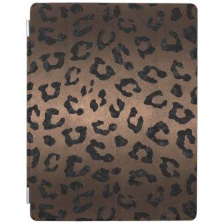 SKIN5 BLACK MARBLE & BRONZE METAL iPad COVER