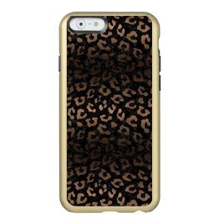 SKIN5 BLACK MARBLE & BRONZE METAL (R) INCIPIO FEATHER® SHINE iPhone 6 CASE