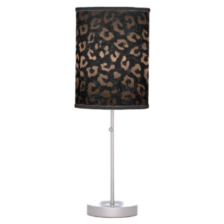 SKIN5 BLACK MARBLE & BRONZE METAL (R) TABLE LAMP