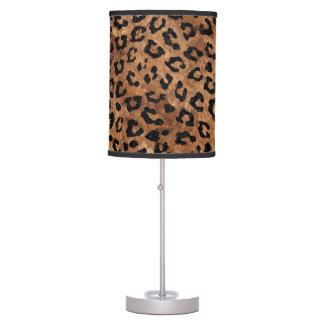 SKIN5 BLACK MARBLE & BROWN STONE TABLE LAMP