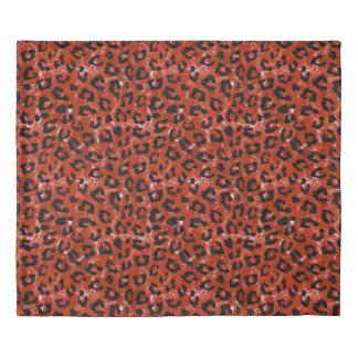 SKIN5 BLACK MARBLE & RED MARBLE DUVET COVER