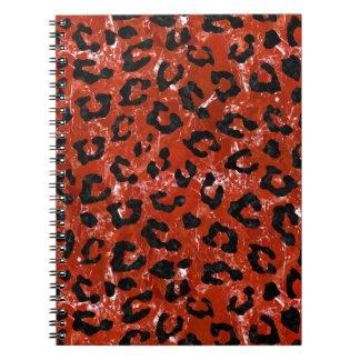 SKIN5 BLACK MARBLE & RED MARBLE NOTEBOOK