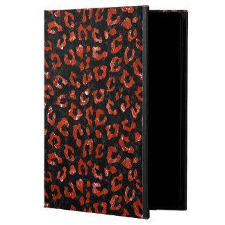SKIN5 BLACK MARBLE & RED MARBLE (R) POWIS iPad AIR 2 CASE