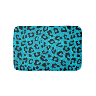 SKIN5 BLACK MARBLE & TURQUOISE MARBLE BATH MAT