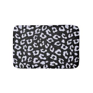 SKIN5 BLACK MARBLE & WHITE MARBLE (R) BATH MAT