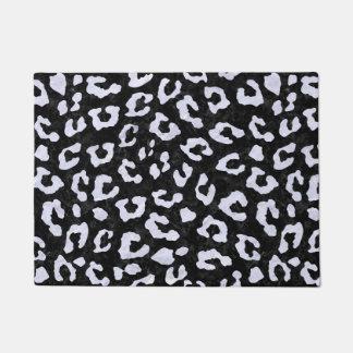 SKIN5 BLACK MARBLE & WHITE MARBLE (R) DOORMAT