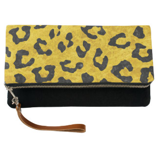 SKIN5 BLACK MARBLE & YELLOW MARBLE CLUTCH
