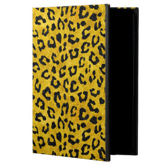 SKIN5 BLACK MARBLE & YELLOW MARBLE POWIS iPad AIR 2 CASE