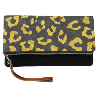 SKIN5 BLACK MARBLE & YELLOW MARBLE (R) CLUTCH