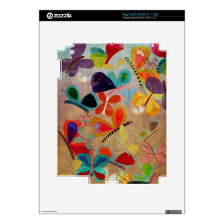 Skin Butterflies Decal For iPad 2