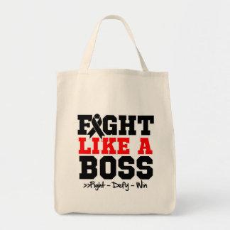 Skin Cancer Fight Like a Boss Tote Bag