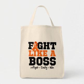 Skin Cancer Fight Like a Boss v2 Bag