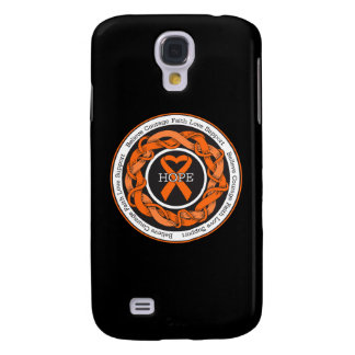 Skin Cancer Hope Intertwined Ribbon Galaxy S4 Covers