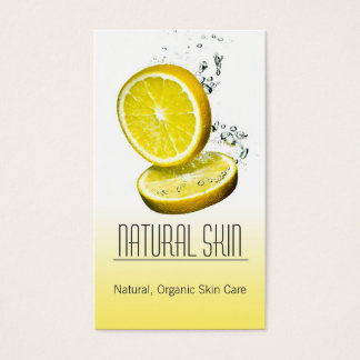 Skin care consultant Beautician business card