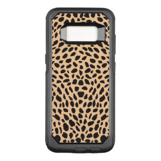Skin cheetah decor OtterBox commuter samsung galaxy s8 case