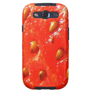 Skin of Strawberry Samsung Galaxy SIII Cover