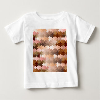 Skin Tone Jigsaw Pieces Baby T-Shirt
