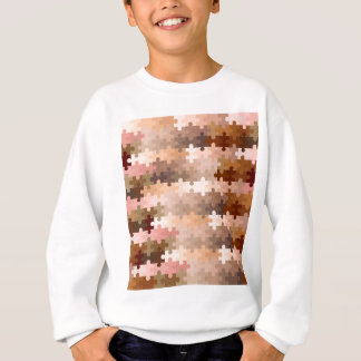 Skin Tone Jigsaw Pieces Sweatshirt