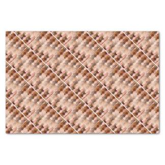 Skin Tone Jigsaw Pieces Tissue Paper