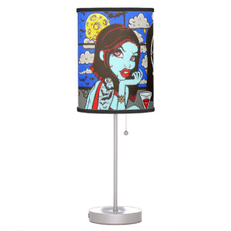 """Skinderella's """"Ghouls Night Out"""" Lamp"""