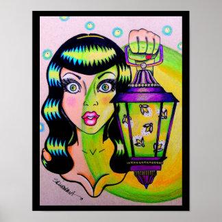 "Skinderella's ""Miss Firefly"" print"