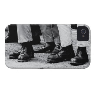 skinhead boots Case-Mate iPhone 4 cases