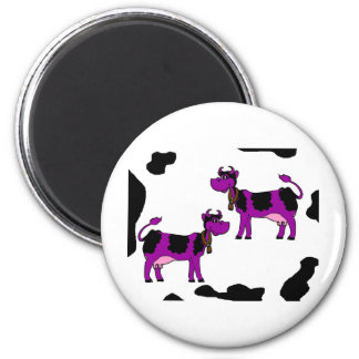 Skinney Cows 2 Inch Round Magnet
