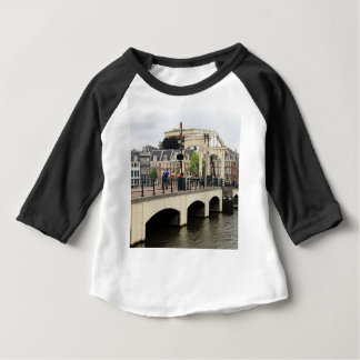 Skinny Bridge, Amsterdam, Holland Baby T-Shirt