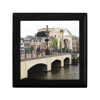 Skinny Bridge, Amsterdam, Holland Gift Box