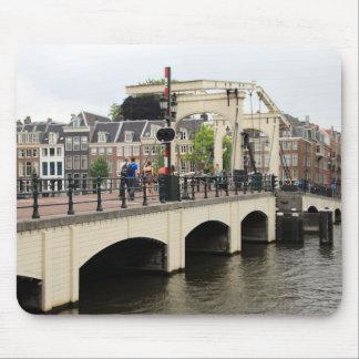 Skinny Bridge, Amsterdam, Holland Mouse Pad