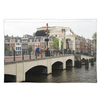 Skinny Bridge, Amsterdam, Holland Placemat