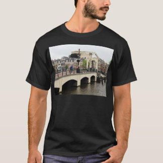 Skinny Bridge, Amsterdam, Holland T-Shirt