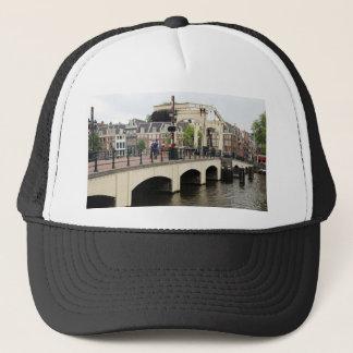 Skinny Bridge, Amsterdam, Holland Trucker Hat