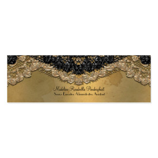 Skinny Elegant Segonzac Victorian 3 5 x 2 Business Card Templates