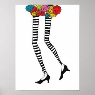 Skinny Legs II, Poster