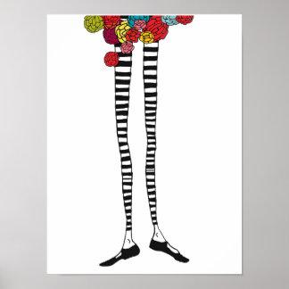 Skinny Legs Poster