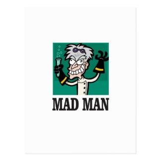 skinny mad man postcard