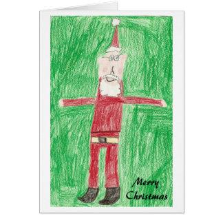 Skinny Santa Card