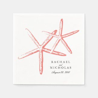 Skinny Starfish | Wedding Disposable Napkin
